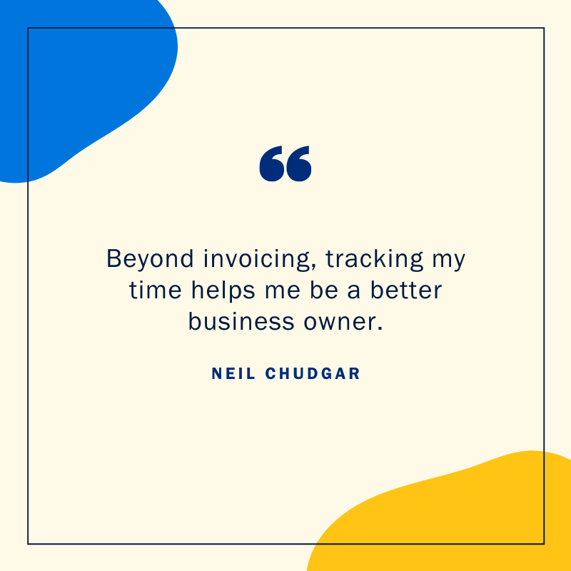 Neil Chudgar cloud accounting quote