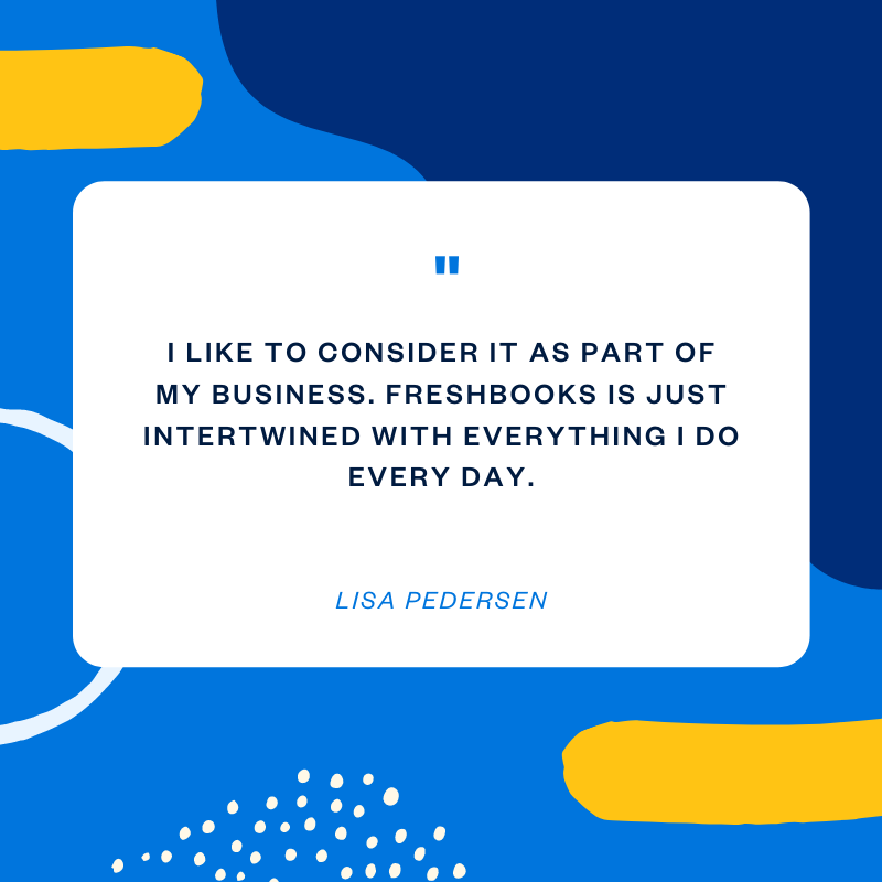 Lisa Pedersen accounting software quote