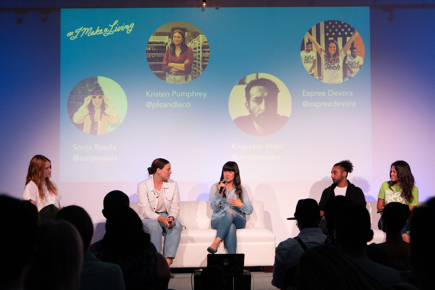 Highlights from #imakealiving Los Angeles and Looking Ahead to San Francisco!