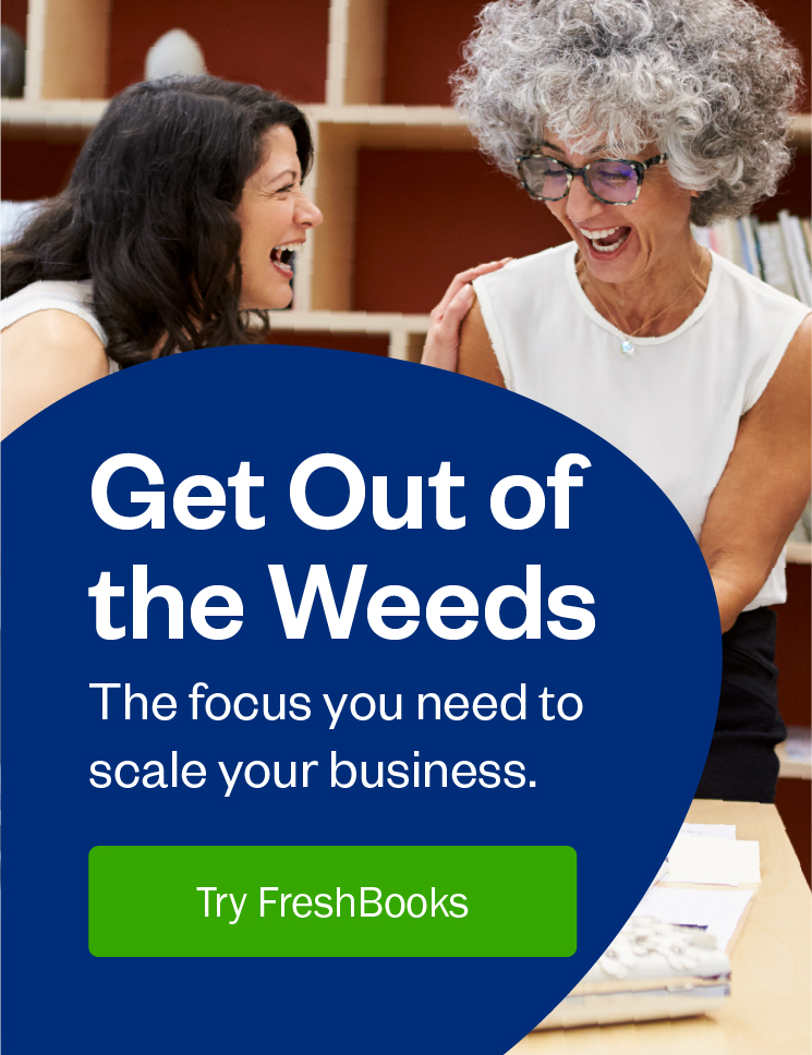get out of the weeds