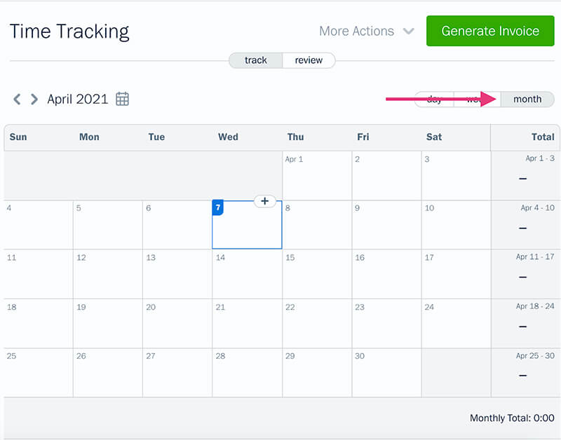 time tracking experience 5