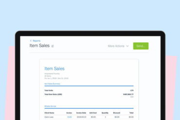 New & Improved in FreshBooks: Item Sales Report, Report Filters and Much More