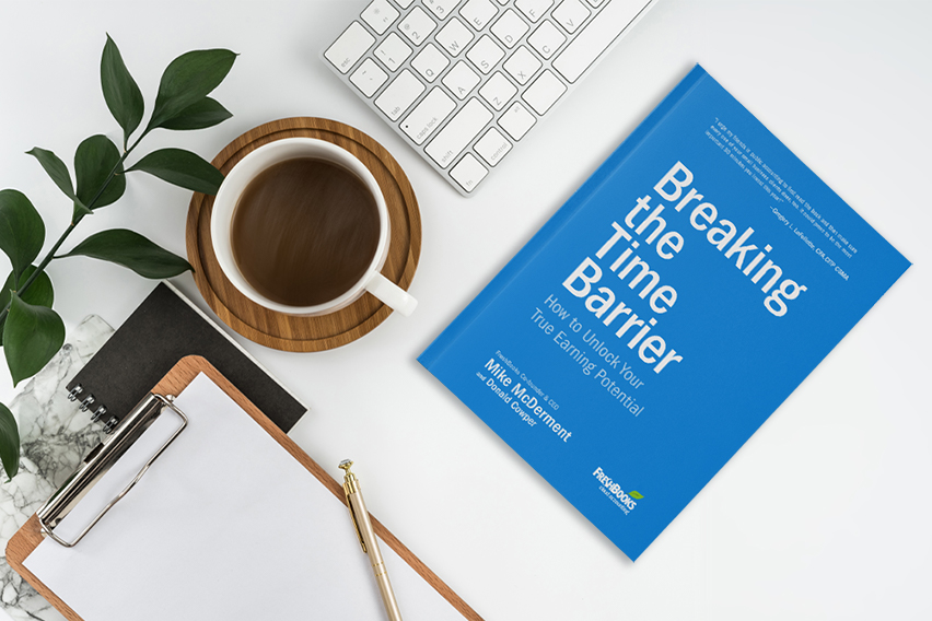 "Introducing: FreshBooks' First Book, ""Breaking The Time Barrier"""