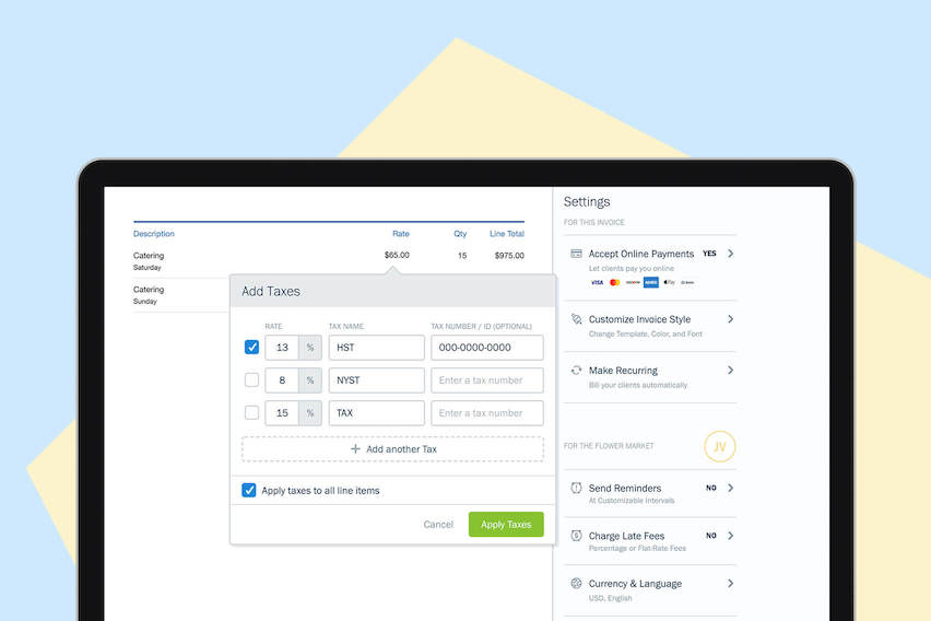 New & Improved in FreshBooks: Taxes, Expenses and Bank Reconciliation Reporting