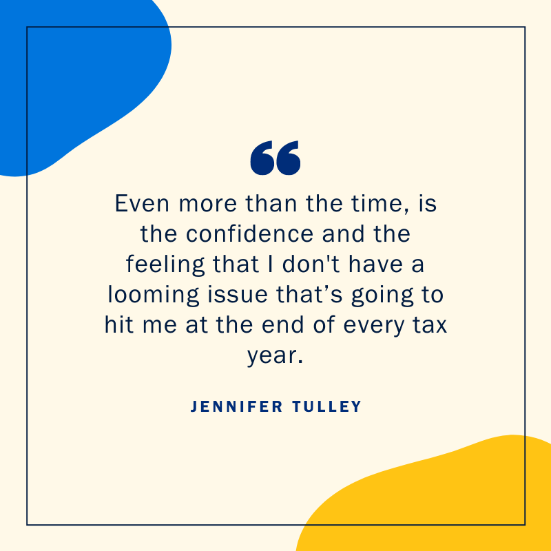 Jennifer Tulley virtual bookkeeping quote