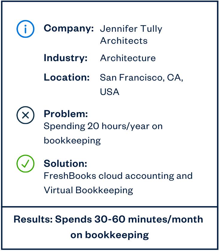 Jennifer Tulley virtual bookkeeping sidebar