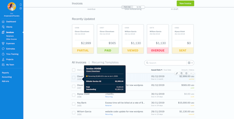 Invoice_Hover_Fall 2019 Product Updates