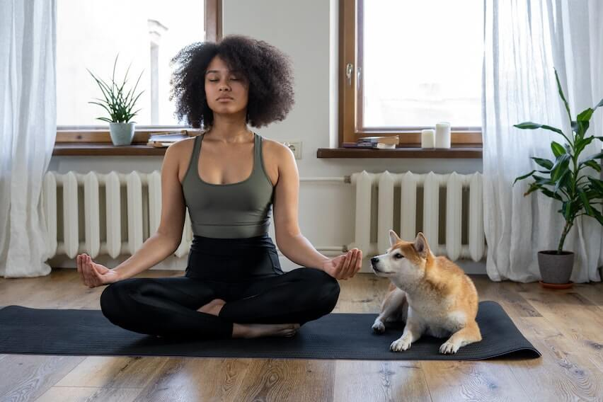 holiday season yoga