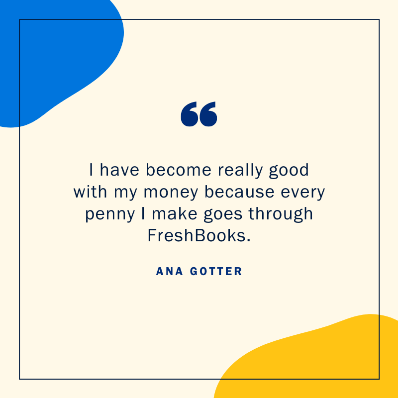 Ana Gotter quote cloud accounting