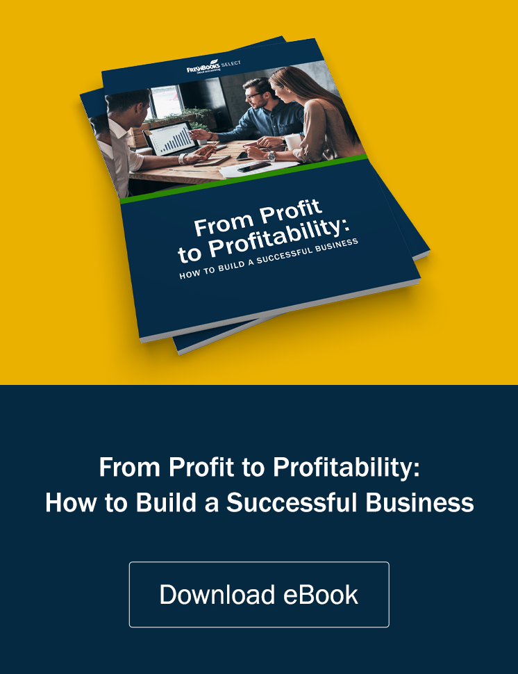 Profit to Profitability eBook Ad