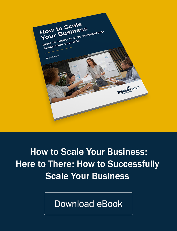 how to scale your business ebook ad