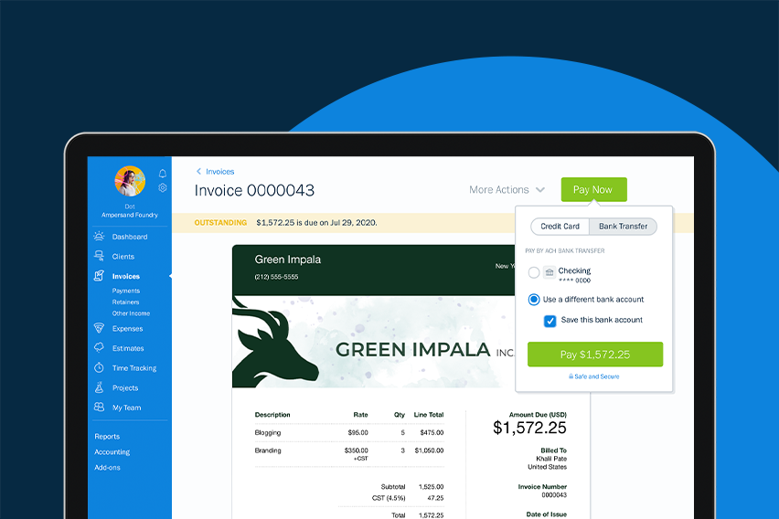 New & Improved in FreshBooks: Bank Tokenization, Credits, and More