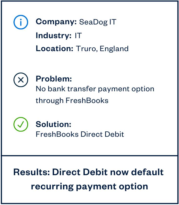 seadog it direct debit