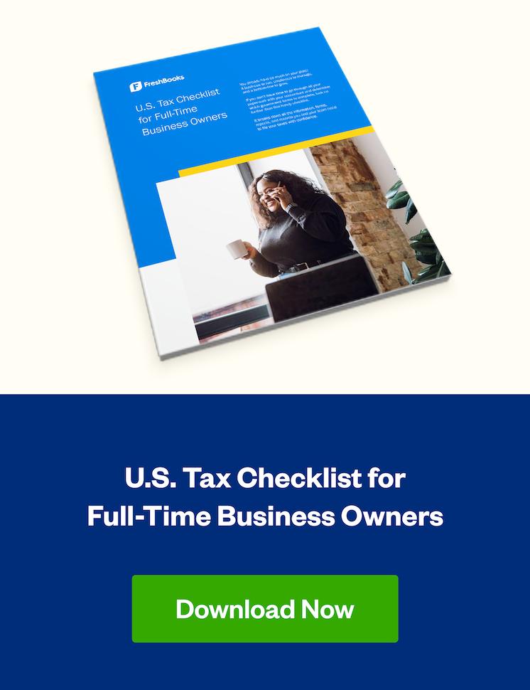u.s. tax checklist