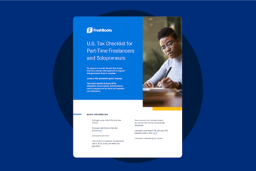 U.S. Tax Checklist for Part-Time Freelancers and Solopreneurs