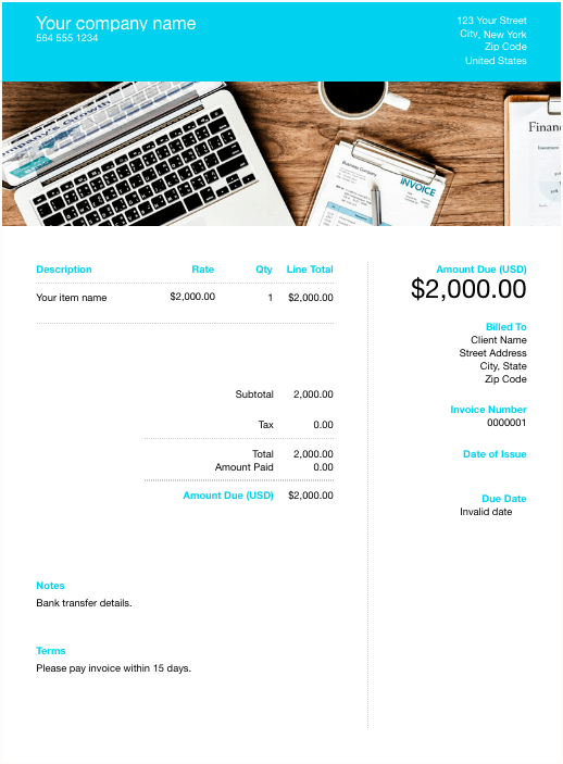 How To Make An Invoice To Get Paid Faster With Invoicing Templates
