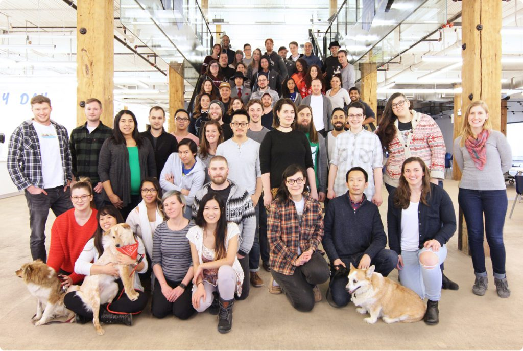 Freshbooks Team photo